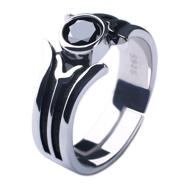 Sword Art Online Ordinal Scale Kirito 925 Silver Ring