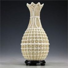 Chinese Vintage Dehua Handwork Porcelain Rare Vase NR6699