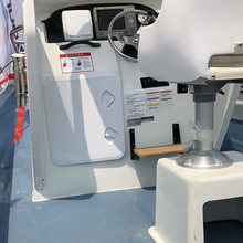 370*375mm ABS Plastic White Deck Marine Access Hatch Anti Aging Ultraviolet Boat Hatches Inspection Yacht RV Cover