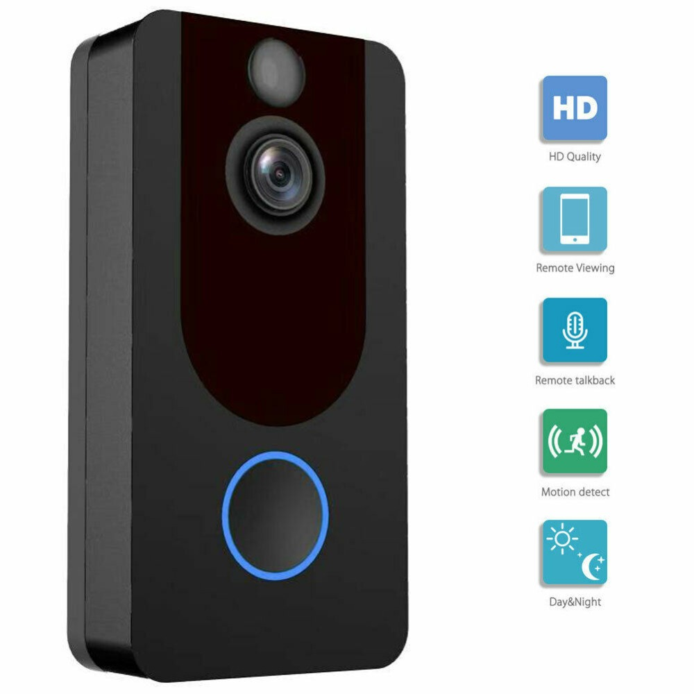 Details about  Wireless Ring Video Doorbell WiFi Security Phone Bell Intercom 1080P IntercomDetails about  Wireless Ring Video Doorbell WiFi Security Phone Bell Intercom 1080P Intercom