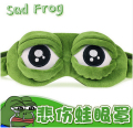 Anime Cosplay Costumes Pepe The Frog Sad frog 3D Eye Mask Cover Sleeping Funny Rest Sleep Accessories Gift