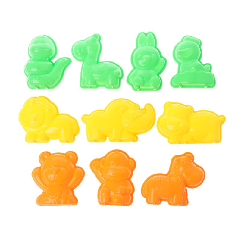10 PCS Sand Clay Beach Toys Clay Mud Molding Clay For Kids Child Toys