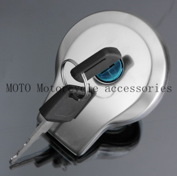 Motorcycle Fuel Gas Tank Cap Lock With Two Keys For Yamaha Virago XV125 XV250 400 535 750 1100 Motorcycle Gas Tank Cap Motor Key