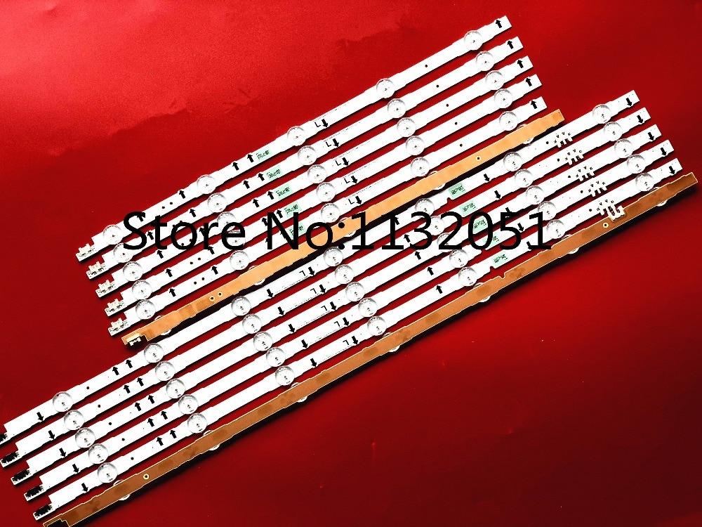 LED Backlight Strip 7+5 Lamp D4GE-550DCA-R3 D4GE-550DCB-R3 BN96-30431A N96-30432A For Samsung 55'' UE55H5500 UE55J5670 UE55H6200