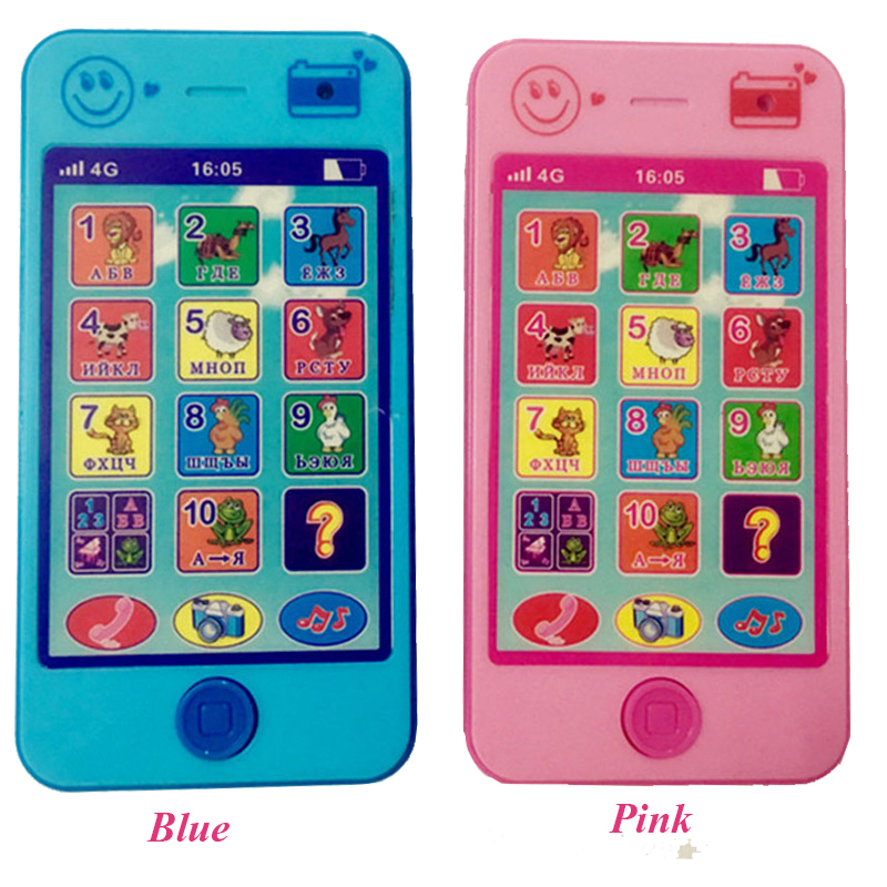 Baby-Early-Learning-Training-Machines-toy-phone-russian-language-animal-sounds-kids-phone-education-music-Phone-Free-Shipping-1