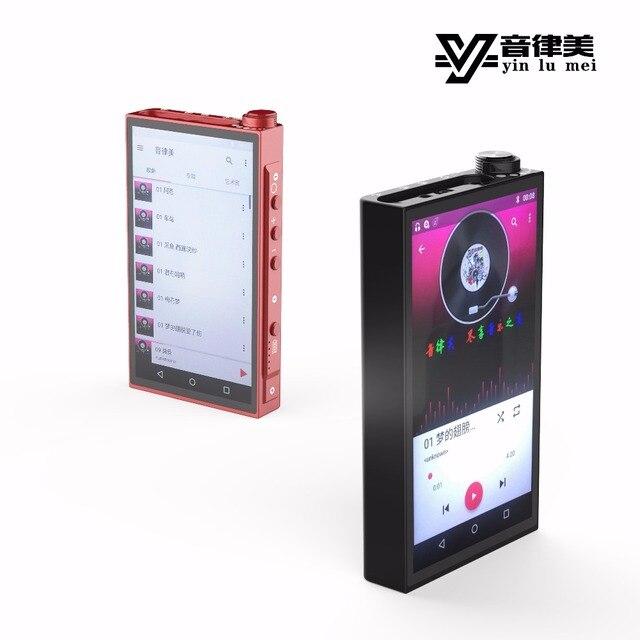 New YinLvMei A1 DAP Smart MP3 Music Player USB Decoder AK4497EQ 2.5+3.5 Double Balanced Output Support APTX Lossless Bluetooth