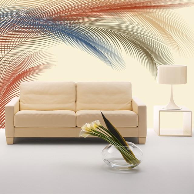 Bulu Benua Yang Modern Ruang Tamu Minimalis Bedroom Tv Latar Belakang Wallpaper R Anak Mural Ini