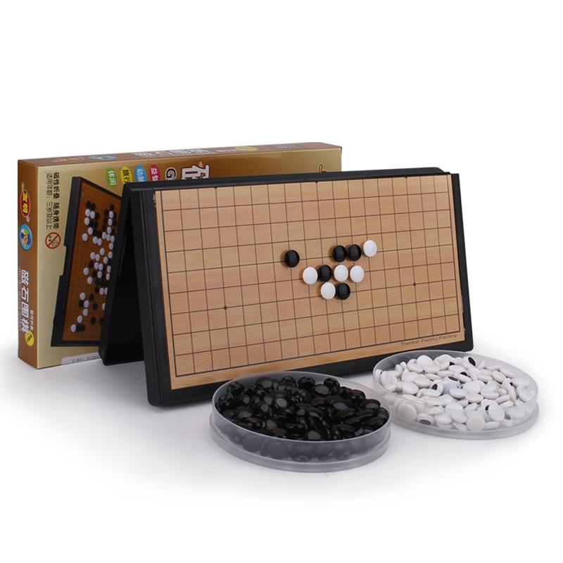 more photos c9645 8dd61 US $10.5 |Piccolo Piano magnete portatile scacchi cinesi Go gioco bambino  331 pieghevole magnetica scacchi cinesi libro in Piccolo Piano magnete ...