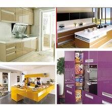 60cm Width Simple Solid Color Self Adhesive Wallpaper Rolls Living Room Cabinets Desktop Decals Vinyl Waterproof Home Decoration