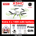 SYMA X5HC 4-CH 2.4GHz 6-Axis RC Quadcopter Drone With 2.0MP HD Camera/ Automatic Air Pressure High/ Headless Mode X5C Updated