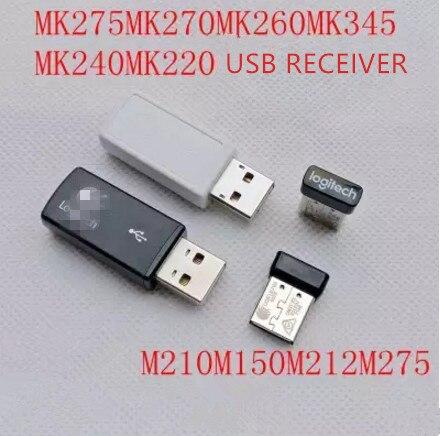 1pc original new usb receiver for Logitech mk270/mk260/mk220/mk345/mk240/m275/m210/m212/m150 mouse keyboard receiver