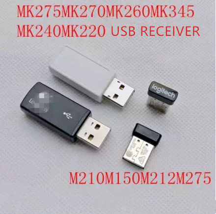 1pc Original New Usb Receiver For Logitech Mk270/mk260/mk220/mk345/mk240/m275/m210/m212/m150 Mouse Keyboard Receiver