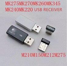 1pc のためのオリジナル新 usb レシーバーロジクール mk270/mk260/mk220/mk345/mk240/m275/m210/m212/m150 マウスキーボード受信機