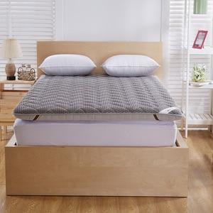 Image 5 - Colchão massageador de espuma, colchão duplo de fibra de bambu, colchão de ar