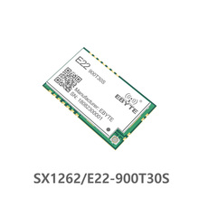E22-900T30S SX1262 1W UART Wireless Module 868MHz 915MHz Transceiver IoT SMD IPEX Interface