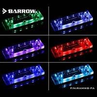 Barrow water cooler heatsink RAM water block kits