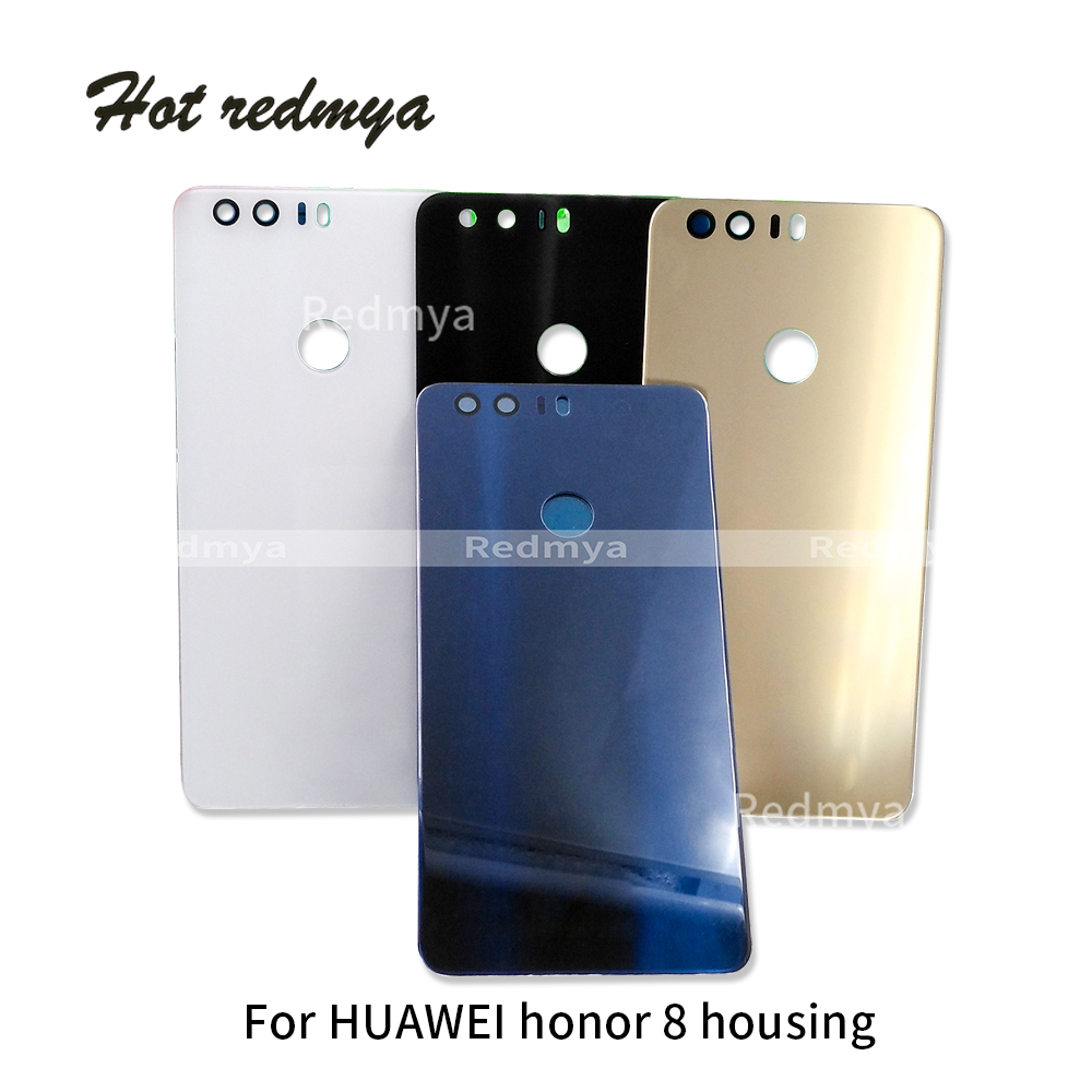 Battery-Cover-Case Back-Glass Honor Huawei Housing Replacement-Parts