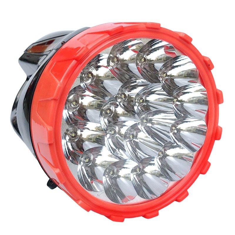 Puissance élevée 18 pièces lampe de poche LED moderne charge directe torche d'urgence camp de pêche Rechargeable luminosité lampes de poche