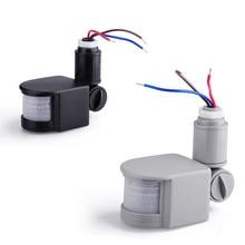 AC 220V Motion Sensor Light Switch Automatic Infrared PIR Motion Sensor Switch