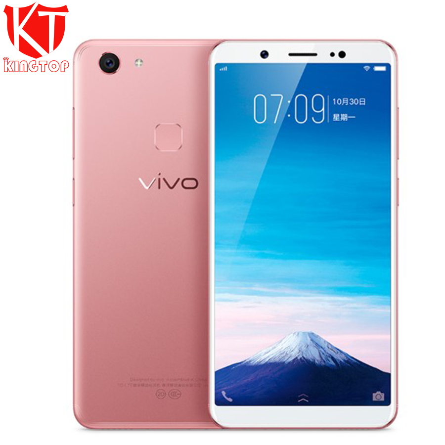 Original New VIVO Y75 Mobile phone MTK6763 Octa Core 4GB RAM 32GB ROM 5.7 inch 1440*720px 4G-LTE Android 7.1 Dual SIM Cellphone