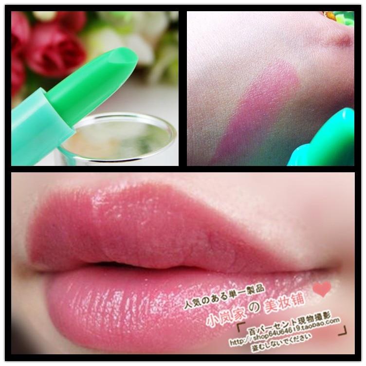 Heterochrosis fruity waterproof lipstick color changing lipstick
