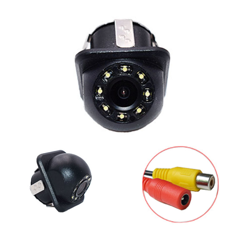 Universal car rear camera with reverse image HD BACK UP camera waterproof night vision with 8 LED light parking cameraUniversal car rear camera with reverse image HD BACK UP camera waterproof night vision with 8 LED light parking camera