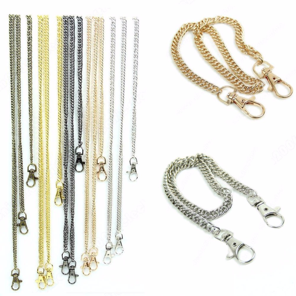 E74 High Quality Purse Handbags Bags Shoulder Strap Chain Replacement Handle Hot 40cm