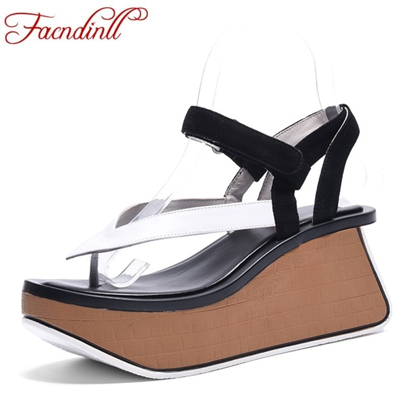 FACNDINLL classics women gladiator sandals shoes new fashion wedges high heels open toe summer shoes woman casual date sandals facndinll new women summer sandals 2018 ladies summer wedges high heel fashion casual leather sandals platform date party shoes