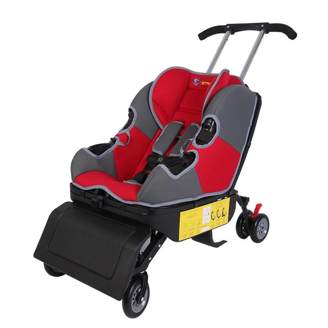 Alegría 5 en 1 multifuncional de coche de bebé asiento de seguridad para niños 0-4 isofix 3c cochecito de bebé silla de comedor asiento del cochecito del coche de refuerzo