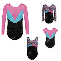 Girls Kids Ballet Leotard Dance Dress Biketard Ballet Tutu Gymnastics Leotard Dance Wear Acrobatics Jumpsuit Training