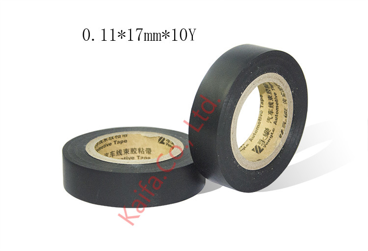 1pcs 0.11mm x17mmx 10Y flame retardant insulation automotive wiringharness PVC electrical Adhesive Tape 0.11mm *17mm* 10Y1pcs 0.11mm x17mmx 10Y flame retardant insulation automotive wiringharness PVC electrical Adhesive Tape 0.11mm *17mm* 10Y