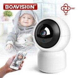 Hd 720 p 1080 p inteligente wifi ip câmera de rastreamento automático visão noturna áudio em dois sentidos nuvem armazenamento wi-fi câmera ptz monitor do bebê sem fio