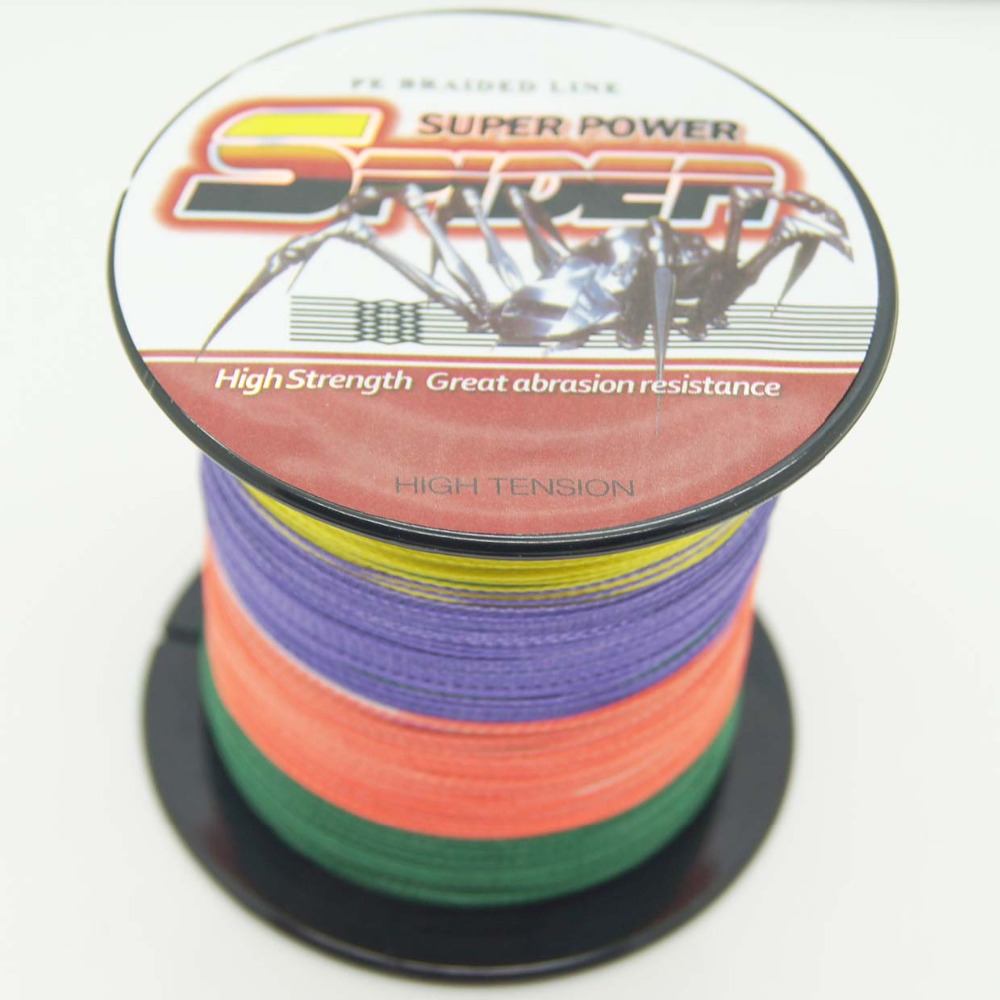 Top quality japan brand level wire brand pe multi 100m for Bulk braided fishing line