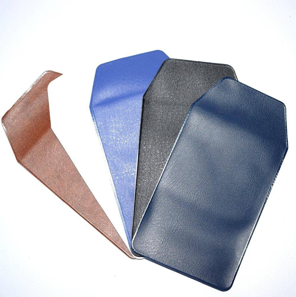 6 Pcs PU Leather Pocket Protector Classic School Hospital Office Supplies for Pen Leaks Deep Blue /& Black
