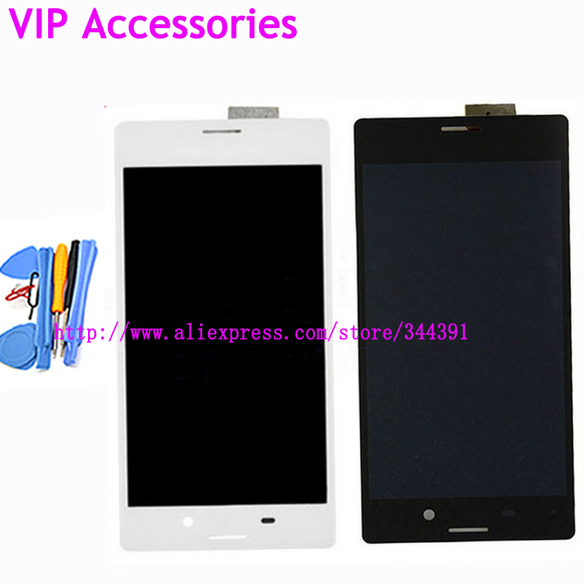 M4 Aqua LCD Screen For Sony Xperia M4 Aqua LCD Display With Touch Screen Digitizer Assembly tools Tracking