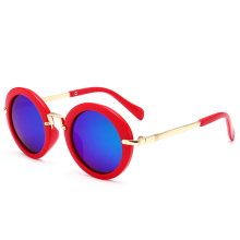 Kids Polarizing Vintage Round Sunglasses