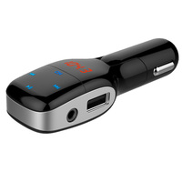 Car Bluetooth Mp3 Player FM Transmitter Handsfree FM Modulator Bluetooth Car Kit Dual USB Charging Port