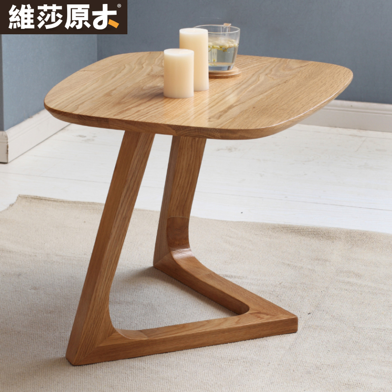 European Solid Wood Coffee Table Sofa Side A Few Corner