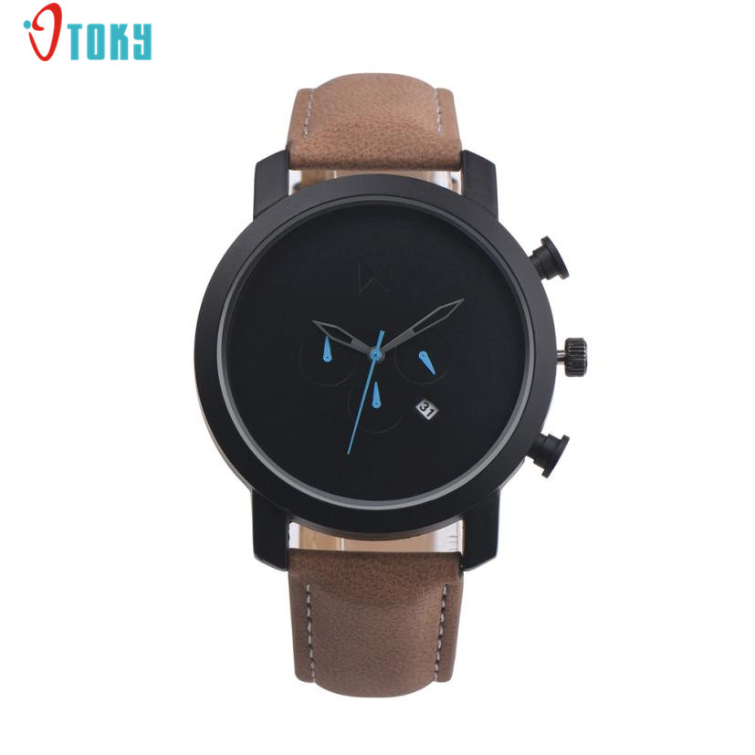 popular simple mens watch buy cheap simple mens watch lots from fashion simple men watches retro design pu leather band black screen clocks alloy quartz wrist watch