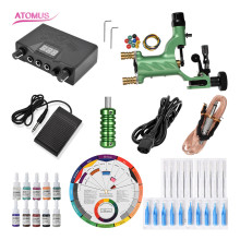 Rotary Tattoo Machine Kits Tatoo Equipamento Maquina De Tatuar Pen Kit Set Tatuaje Tatuagem