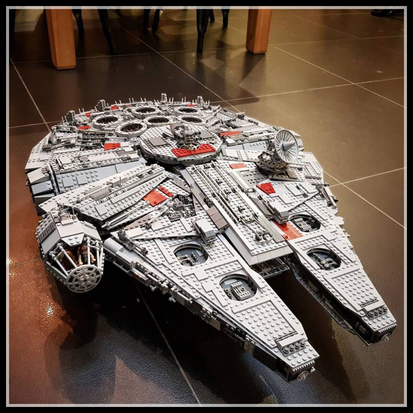 IN STOCK 05132 8445Pcs Star Series Wars Ultimate Collectors Model Destroyer LEPIN Building Bricks Children Toys 75192 boy gift