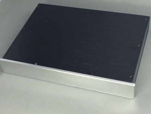 QUEENWAY BZ4306 CNC full Aluminum Chassis Case Enclosure DAC DIY Amplifier box for 430mm*62mm*308mm 430*62*308mm wa60 full aluminum amplifier enclosure mini amp case preamp box dac chassis