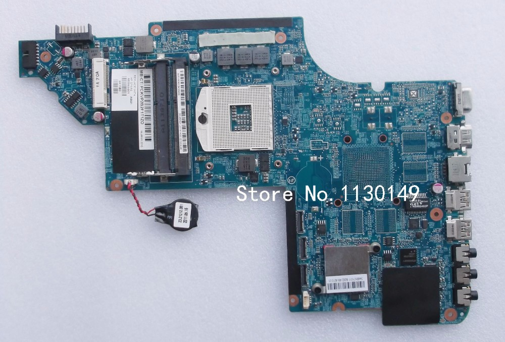 цены  665993-001 motherboard for HP pavilion DV7 DV7-6000 laptop motherboard hm65 chipset 100% tested well