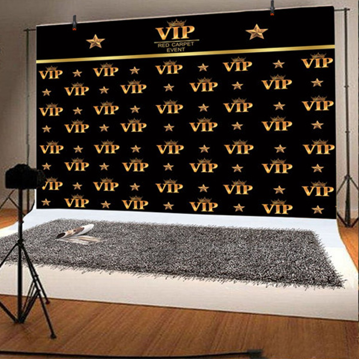 Vinyl Red Carpet Event Party Backdrop Photography Background Cloth Birthday Prom Ball Wedding Decoration Studio Photo Props