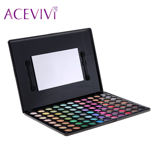 1 unids Nueva Moda Profesional de 88 Colores Paleta de Sombra de ojos Mate Shimmer maquillaje Paleta 31