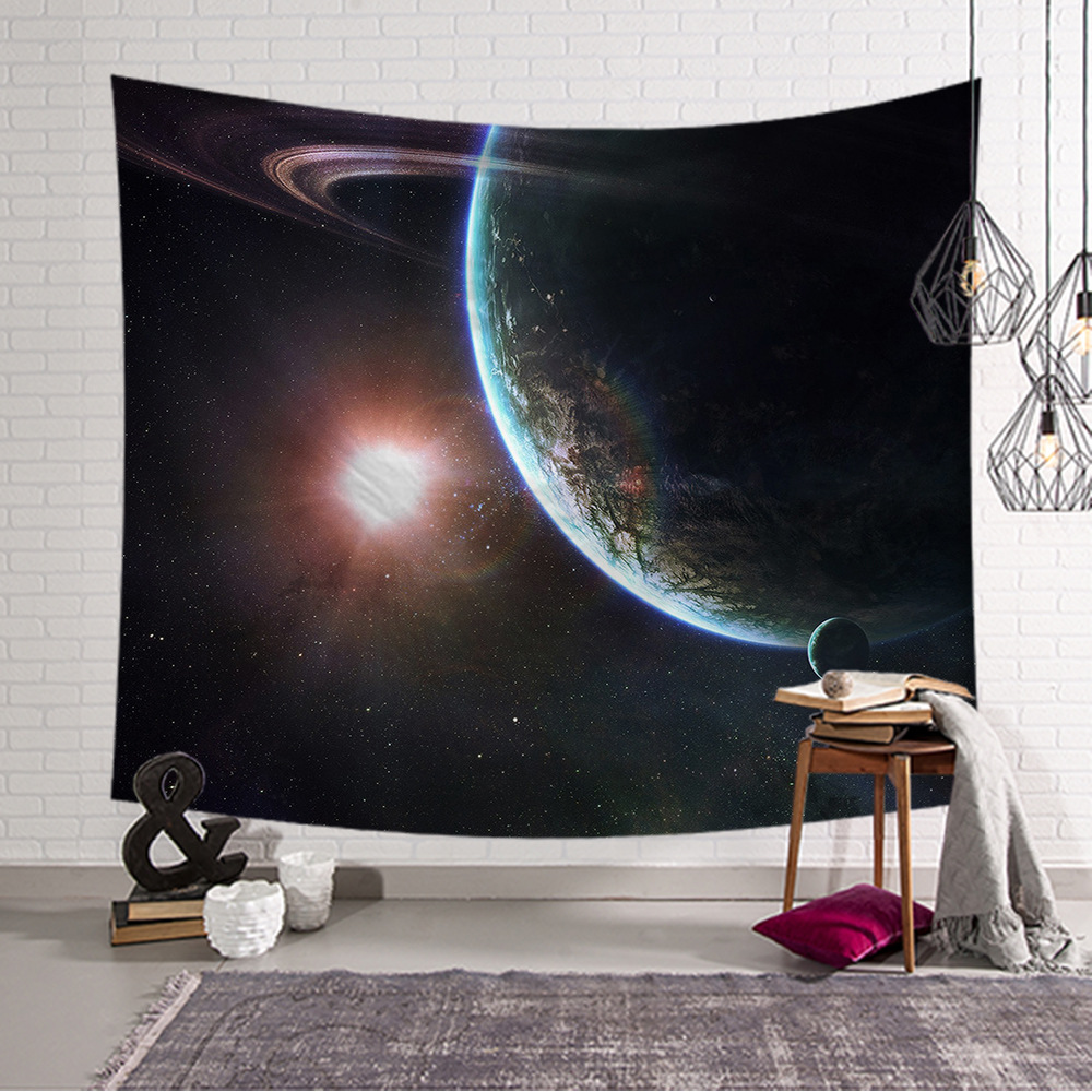Amazing Galaxy Wall Decor Hanging Tapestry Mandala Cloth Yoga Mats 4 Size Personalized Home Decoration Gift Beach Throw Carpets in Tapestry from Home Garden