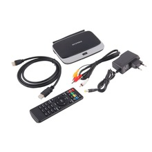 CS918S Andriod 4.4 Smart TV Box Quad Core 2 GB RAM 16 GB ROM construit dans Bluetooth 3G 4 K WIFI Android TV Box UE Plug Chaude nouveau