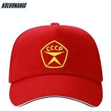 Ussr CCCP Soviet Commemorate Hats Russian Print Baseball Cap For Men/Women Cotton Unisex Vintage Adjustable Snapback Caps