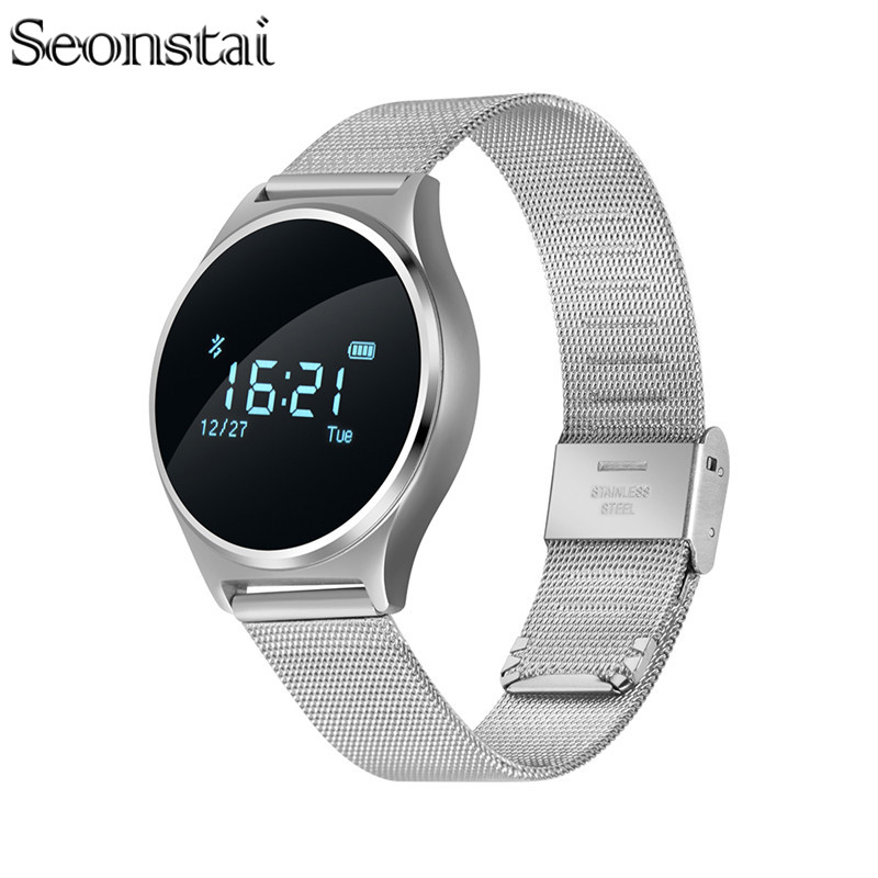 Seonstai M7 Bluetooth Smartband Support Touch Screen Bracelet Blood Pressure Heart Rate Monitor Fitness Tracker Wristband
