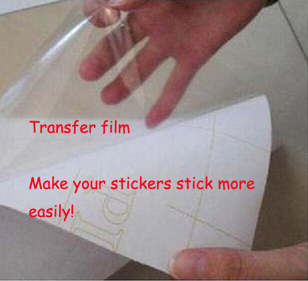 Wall Stickers Transfer Film Vinyl Decals Transfer Film PVC Wall - How to make vinyl decals stick